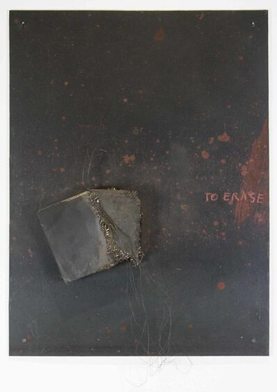 Betty Goodwin, 'To Erase', 2002