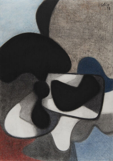 Maurice Estève, 'Sans titre', 1958