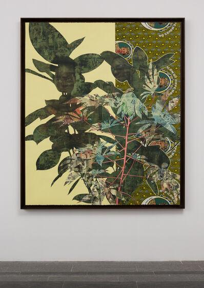 Njideka Akunyili Crosby, 'Cassava Garden', 2015