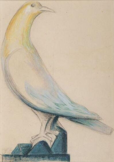 Gustave Miklos, 'Pigeon', ca. 1957
