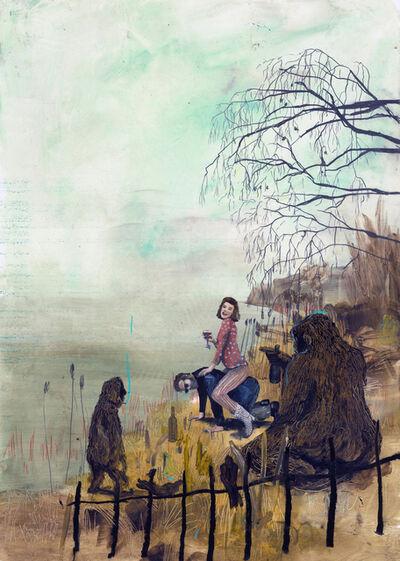 Philip Mueller, 'A reitet in den Nebel', 2019