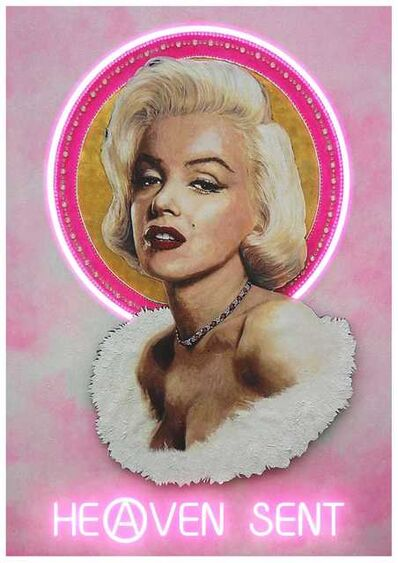 Illuminati Neon, 'Heaven Sent (Marilyn)', 2020
