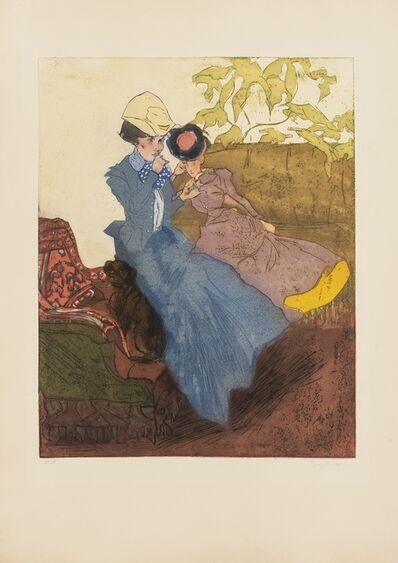 Jacques Villon, 'La Cigarette (Ginestet/Pouillon)', 1901