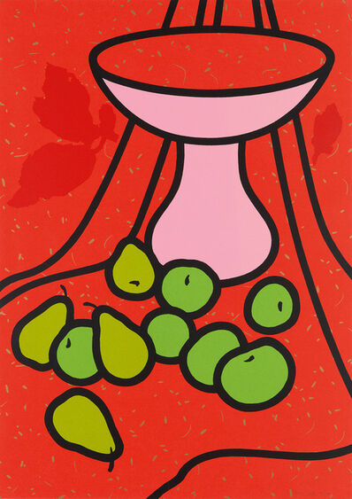 Patrick Caulfield, 'Fruit and Bowl', 1979-80