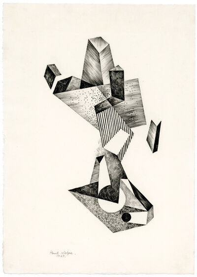 Paul Kelpe, 'Untitled Abstraction', 1937