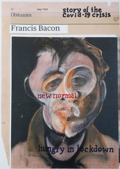 Hugh Mendes, 'Bacon: story of the Covid-19', 2020