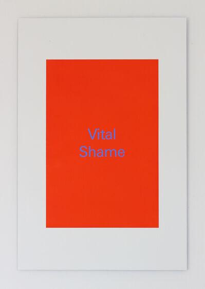 Alex Clarke, 'Vital Shame', 2018