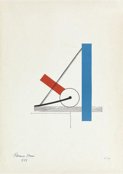 Florence Henri, 'Poster for Hanover Gallery', 1923
