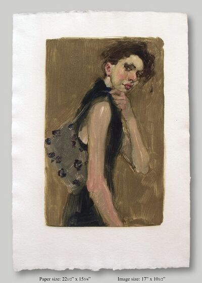 Malcolm T. Liepke, 'Woman with a Purse', 2001