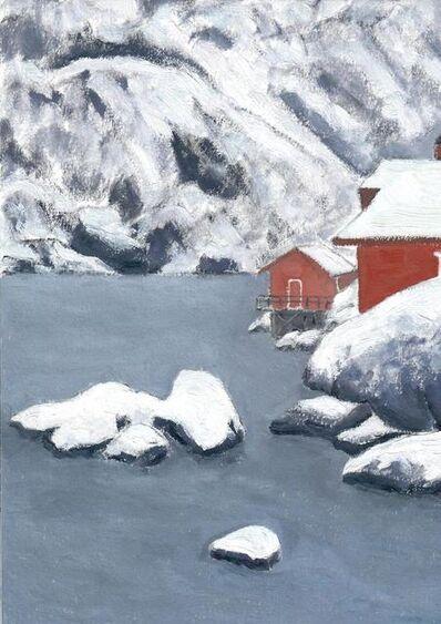 Li Shan  李珊 (b. 1957), 'Big Rocks (Lofoten, Norway) 大石头(罗浮敦群岛,挪威)', 2020