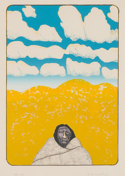 Fritz Scholder, 'New Mexico (First State)', 1974