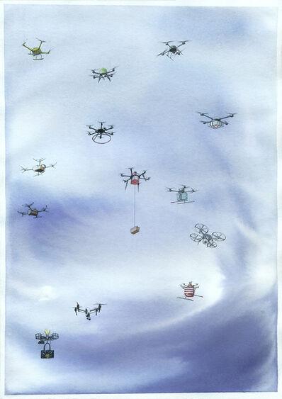 Micha Payer + Martin Gabriel, 'Drohnen #27', 2019