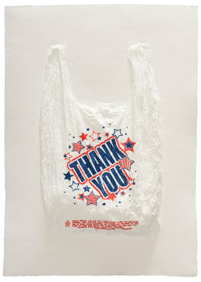 Analia Saban, 'THANK YOU Plastic Bag', 2016