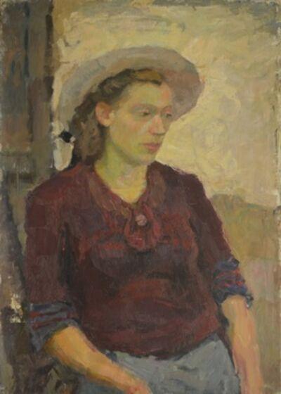 Valery Borisovich Skuridin, 'Portrait of a lady', 1947