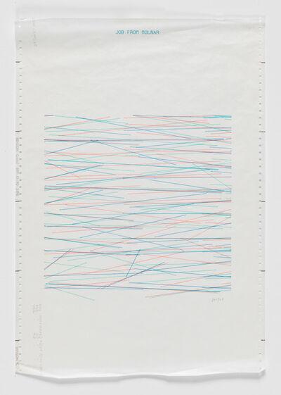 Vera Molnar, 'MAO Computer Drawing', 1971