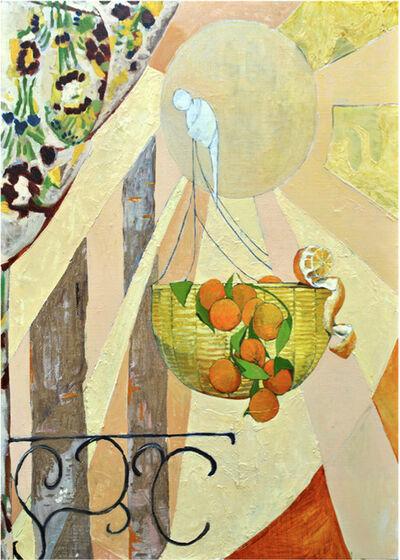 Aithan Shapira, 'Basket of Oranges', 2012