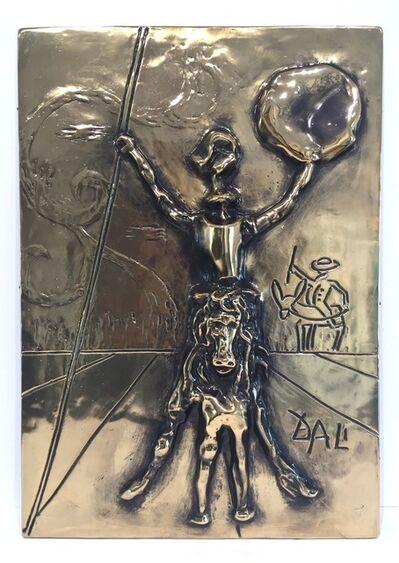 Salvador Dalí, 'Don Quixote Bas Relief', 1979
