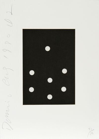 Donald Sultan, 'Dominoes Portfolio - 23', 1990