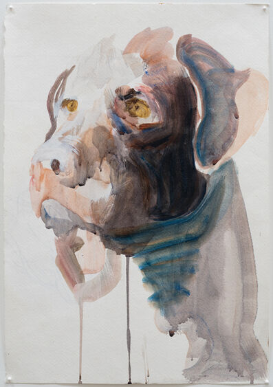 M.A. Peers, 'Chocolate Lab', 2014