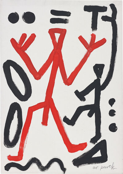A.R. Penck, 'Untitled', 2002