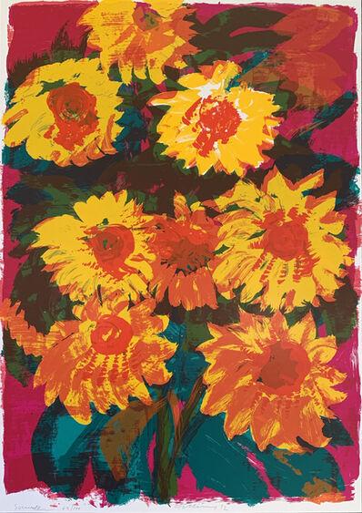 Rainer Fetting, 'Sunflower', 1992