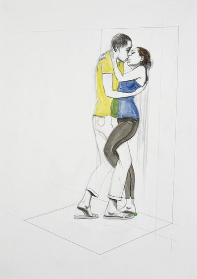 Charles Avery, 'Untitled (Study of Couple)', 2020