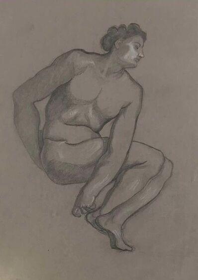 Luigi Russolo, 'Male Nude', 1908-9