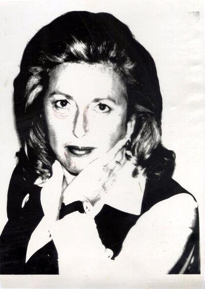 Andy Warhol, 'MARCIA WEISMAN ', ca. 1975