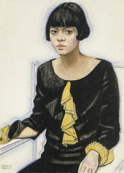 Winold Reiss, 'Portrait of Sari Patton', 1925