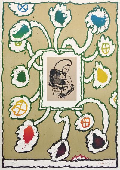 Pierre Alechinsky, 'Lettre Ouverte', 1975