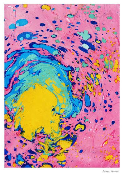 Maisie Cousins, 'Backyard Marbling - Pink', 2020