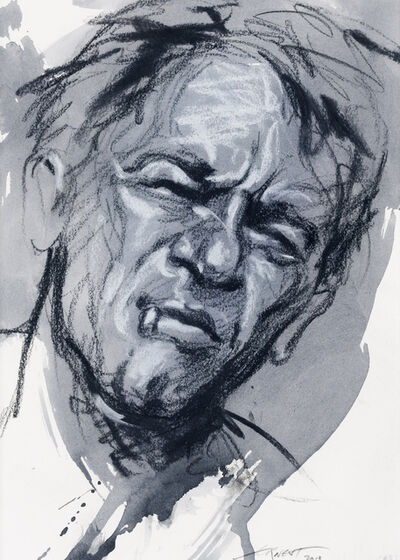 Ernest Pignon-Ernest, 'Etude pour Cendrars', 2013