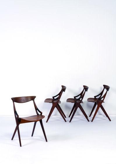 Arne Hovmand Olsen, 'Four chairs', 1959