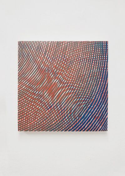 Andrew Schoultz, 'Intersection - Red and Blue', 2019