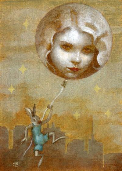 Deirdre Sullivan-Beeman, 'Moon Balloon Girl', 2019