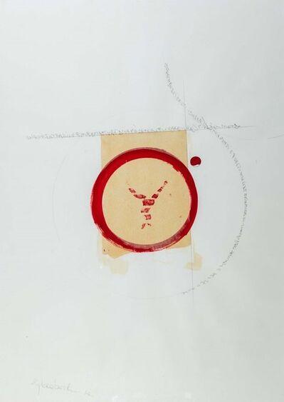 Alighiero Boetti, 'Una concentrazione meditativa e dinamica per spiegare il respiro del mondo', 1985