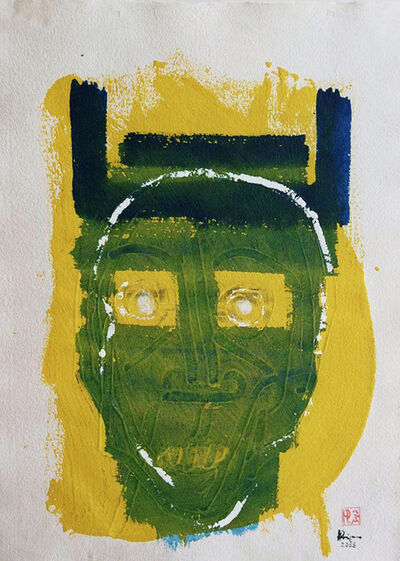 "Herman Prigann, 'Aus der Serie ""Faces""', 2006"