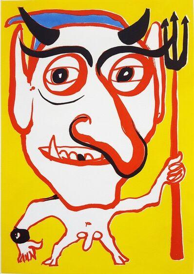 Alexander Calder, 'Portrait of Constantin Tacou', 1974