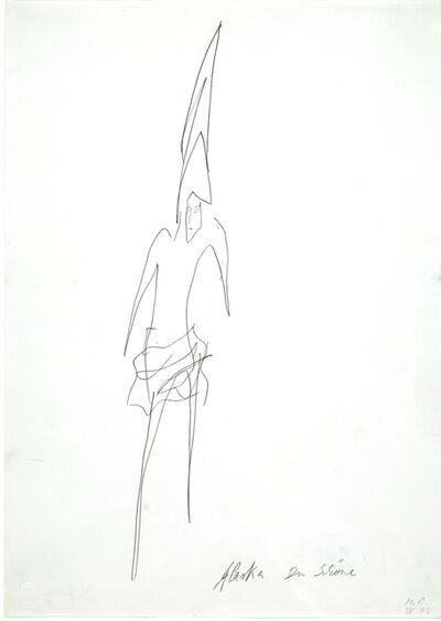 Meret Oppenheim, 'Alaska Du Schöne', 1975