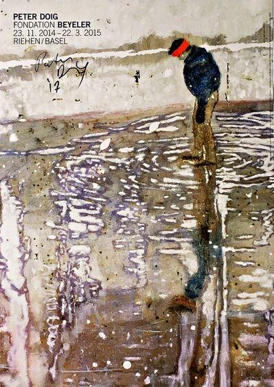 Peter Doig, 'Peter Doig, Fondation Beyeler (Hand Signed)', 2014-2017