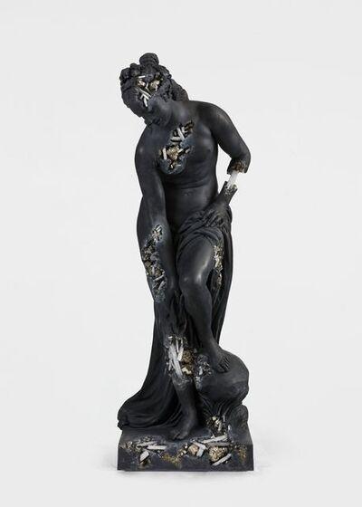 Daniel Arsham, 'Ash and Pyrite Eroded Bather (Venus au Bain)', 2020