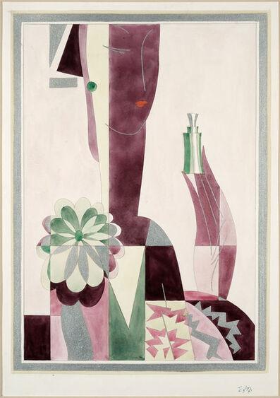 Emil Bisttram, 'Illustration for Perfume Ad', Unknown