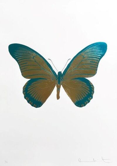 Damien Hirst, 'The Souls IV - Oriental Gold Turquoise', 2010