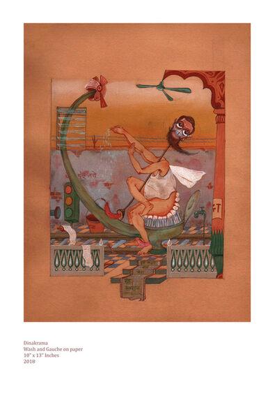Yogesh Ramakrishna, 'Dinakrama - I', 2018