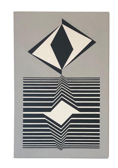 Victor Vasarely, 'Hazay-a', 1968