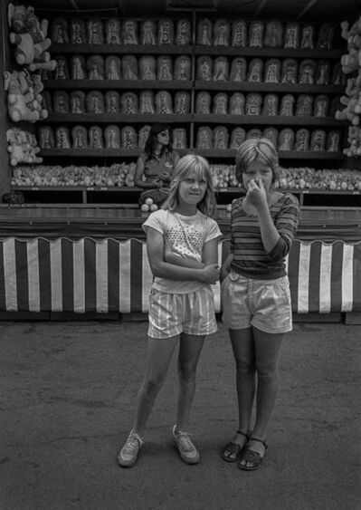 Salvatore Lopes, 'Maine State Fair - Two Girls'