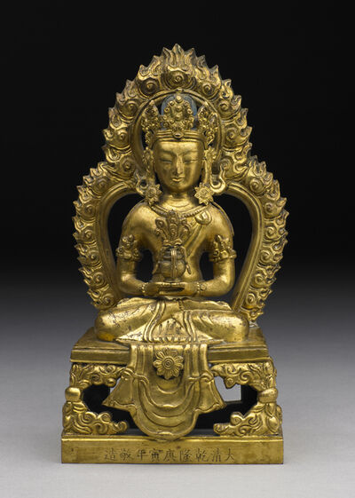 'Amitayus Buddha', Qianlong rein (1736, 1796), 1770