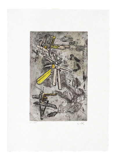 Roberto Matta, 'Droites Libérées: Plate 14', 1971