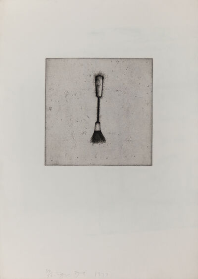 Jim Dine, 'Four German Brushes (Plate 3)', 1973
