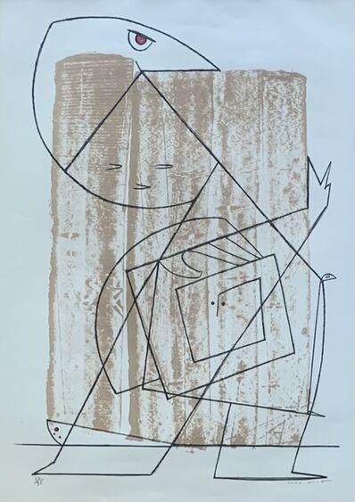 Max Ernst, 'L'Homme à la Lisière de la Fôret', 1954